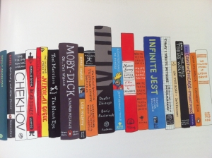 george saunders bookshelf